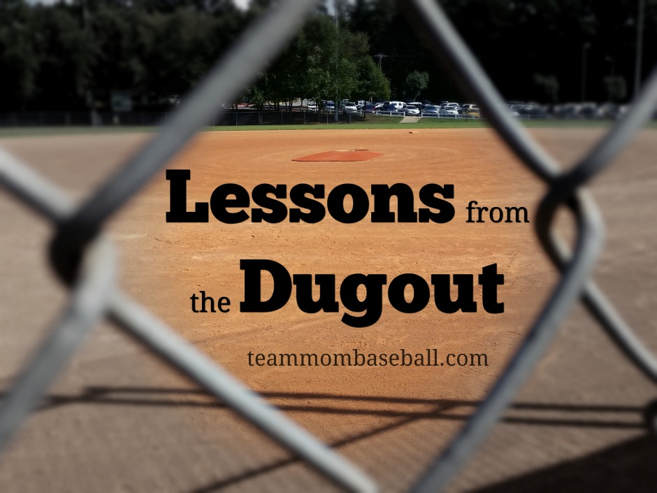 Lessons from the Dugout