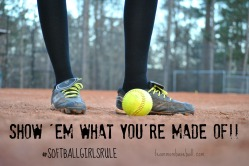 Softball Girls Rule