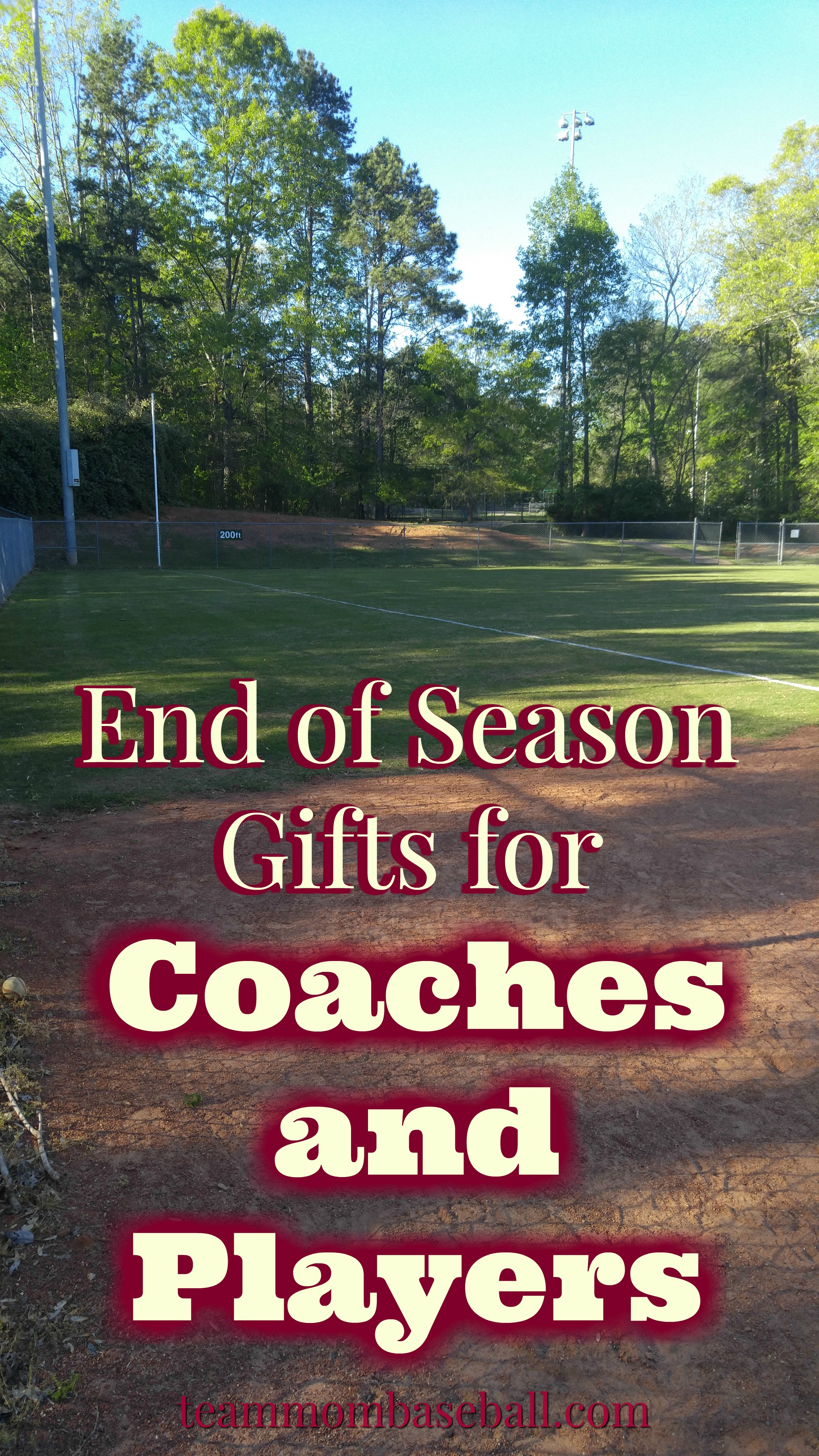 Gift Ideas for Your Favorite Coach – Team Mom Baseball
